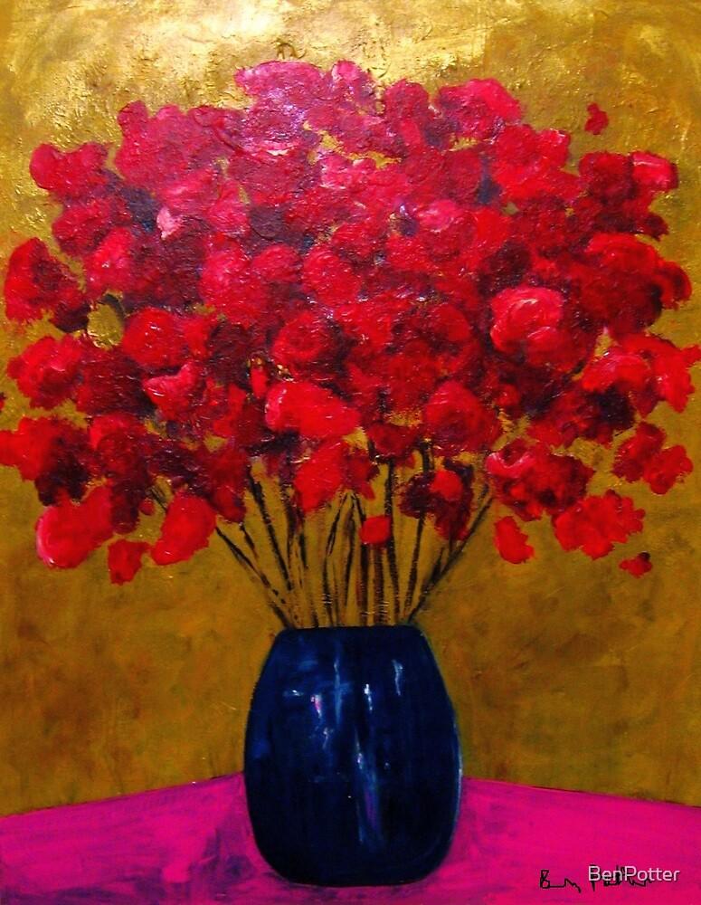Blue Vase by BenPotter
