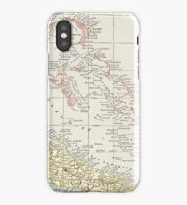 Vintage Map of The Bahamas (1901) iPhone Case/Skin