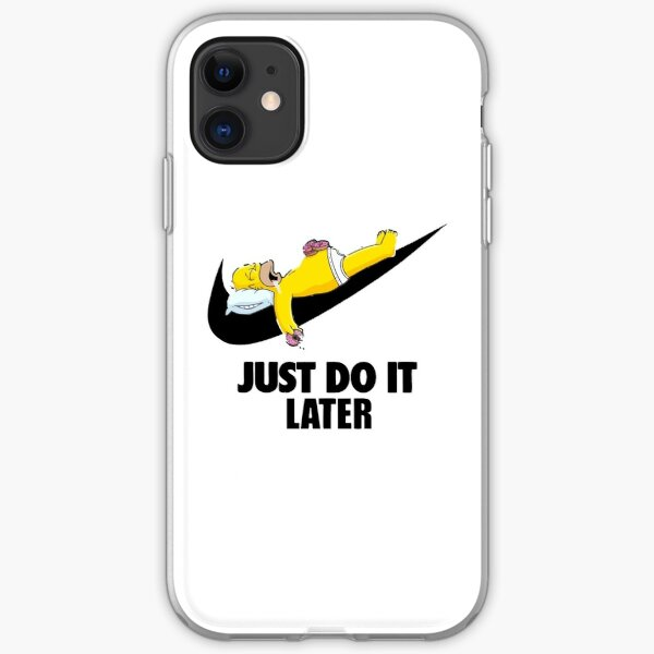 Lazy Just Do It iPhone Soft Case