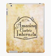The Amazing Electric Internets iPad Case/Skin