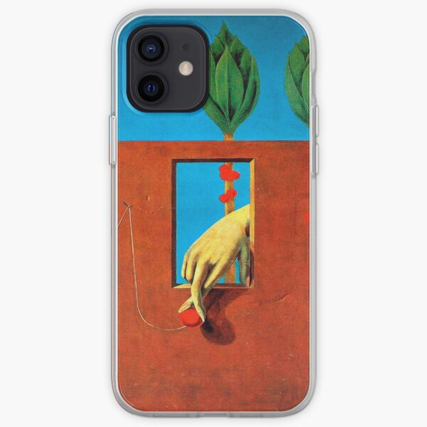 At the first clear word-Max Ernst iPhone Soft Case