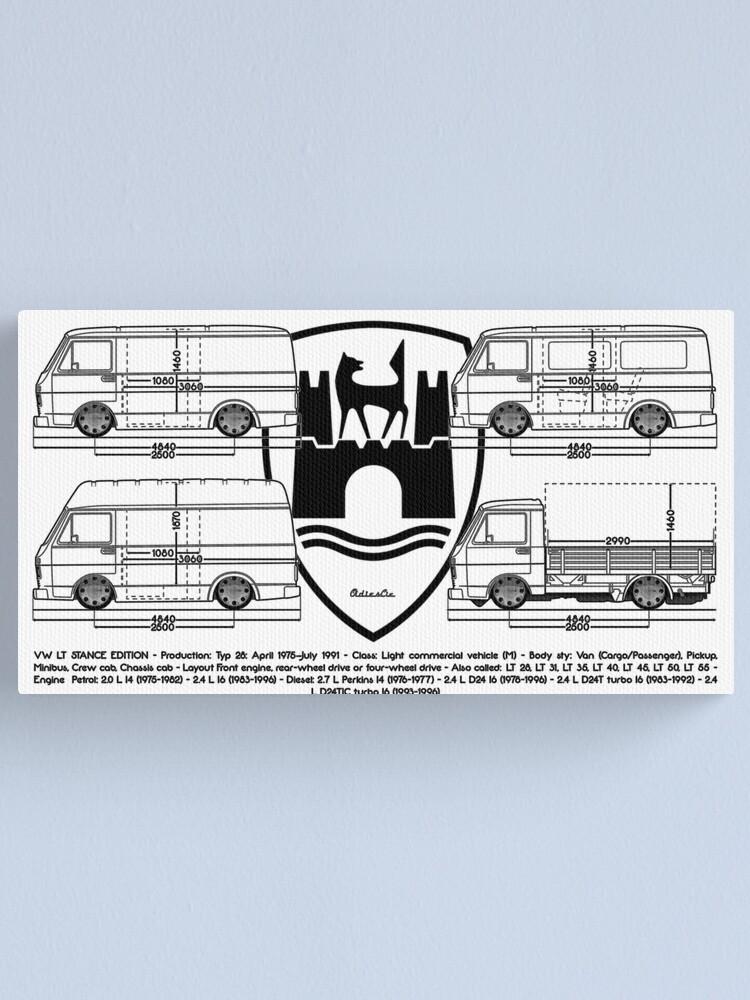 Alternate view of lt bus Canvas Print