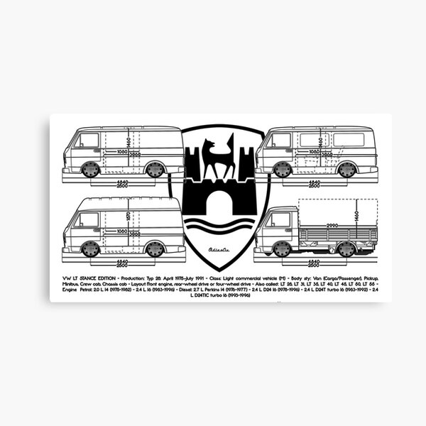 lt bus Canvas Print
