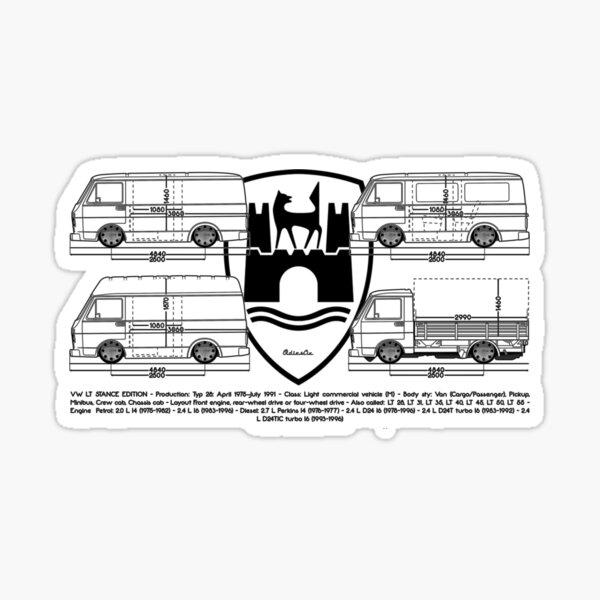 lt bus Sticker