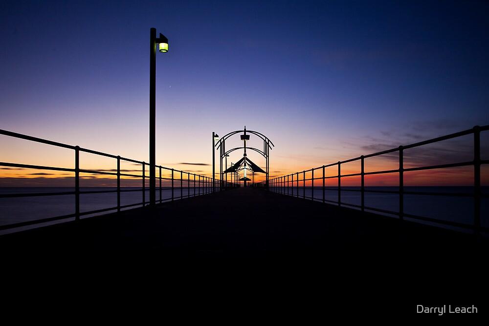 Brighton Jetty Silhouette by Darryl Leach
