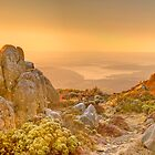 Mount Wellington from the Pinnacle - HDR Panorama by PC1134