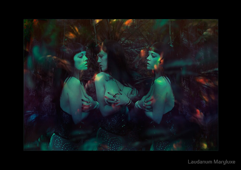 the Forest of Ghastly Voices by Laudanum Maryluxe