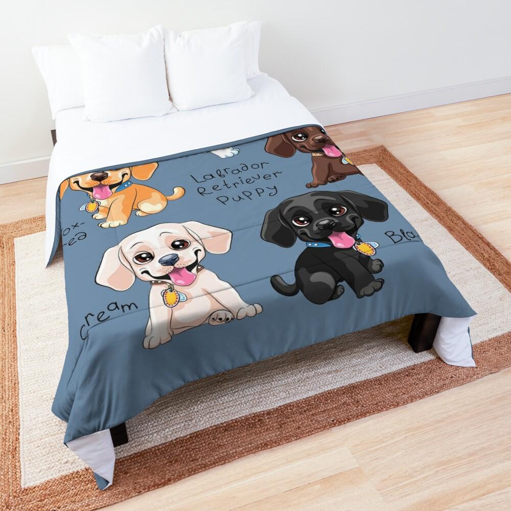 labrador retriever comforter set