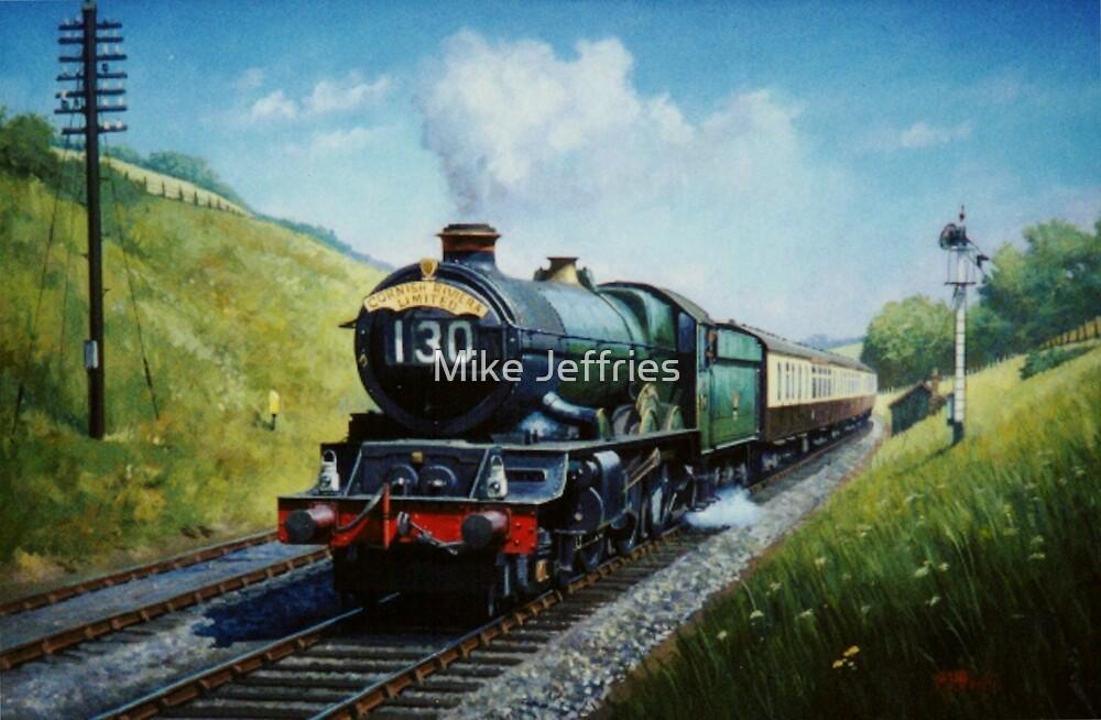 Cornish Riviera express by Mike Jeffries