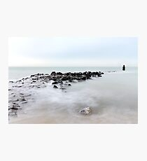 The breakwater... Photographic Print