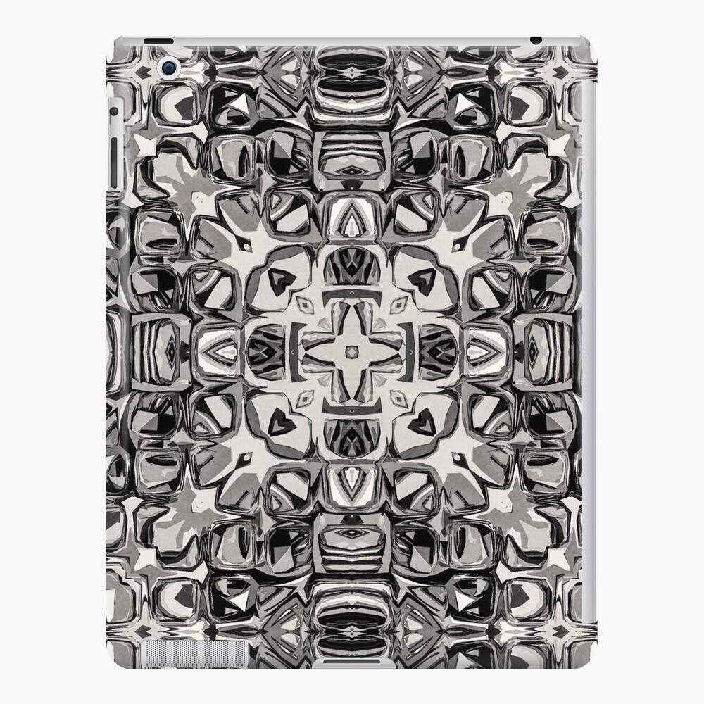 Sepia Tone Mandala iPad Case & Skin