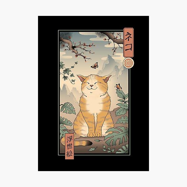 Edo Cat Photographic Print