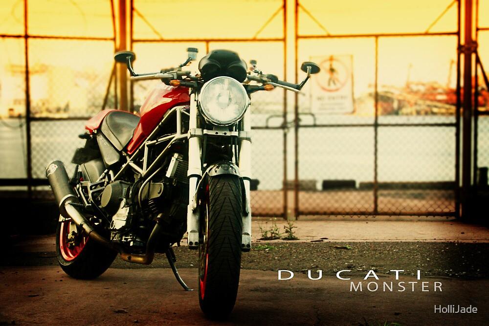 Ducati Monster by HolliJade