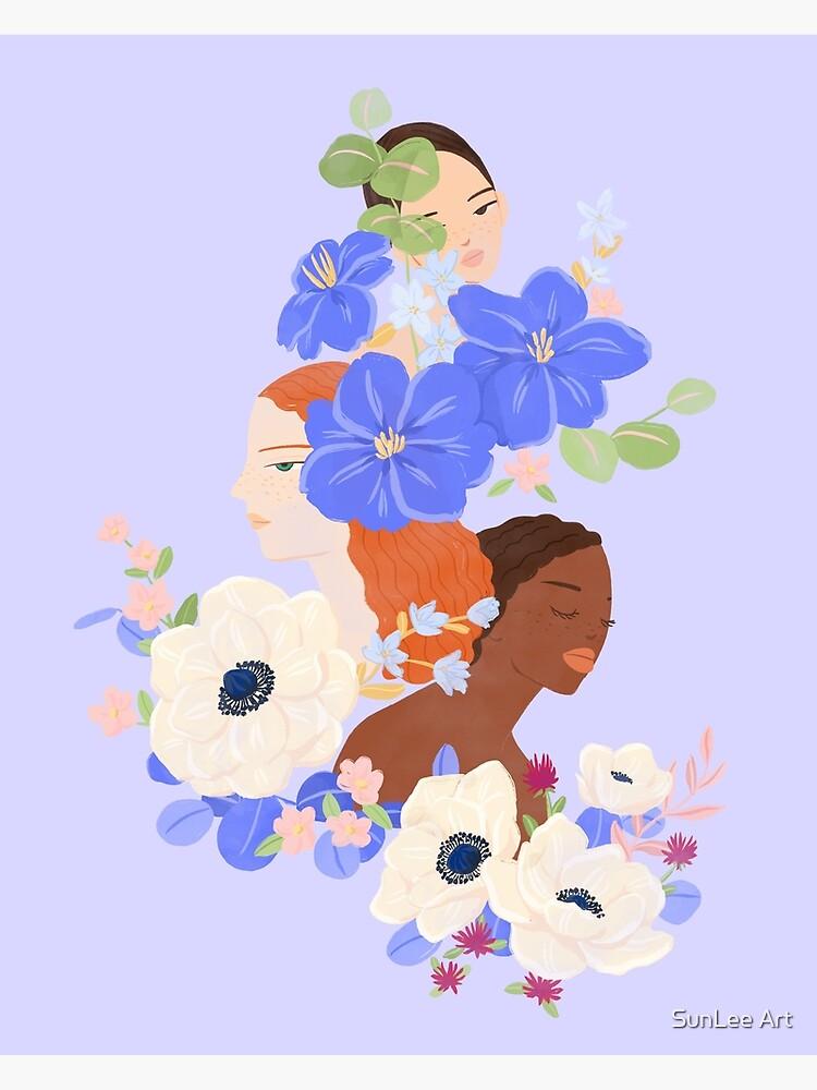 Flower Ladies by sunleeart