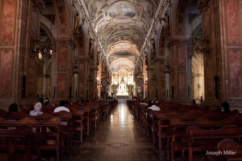 Plaza de Armas Cathedral, Santiago Chile by Joseph Miller