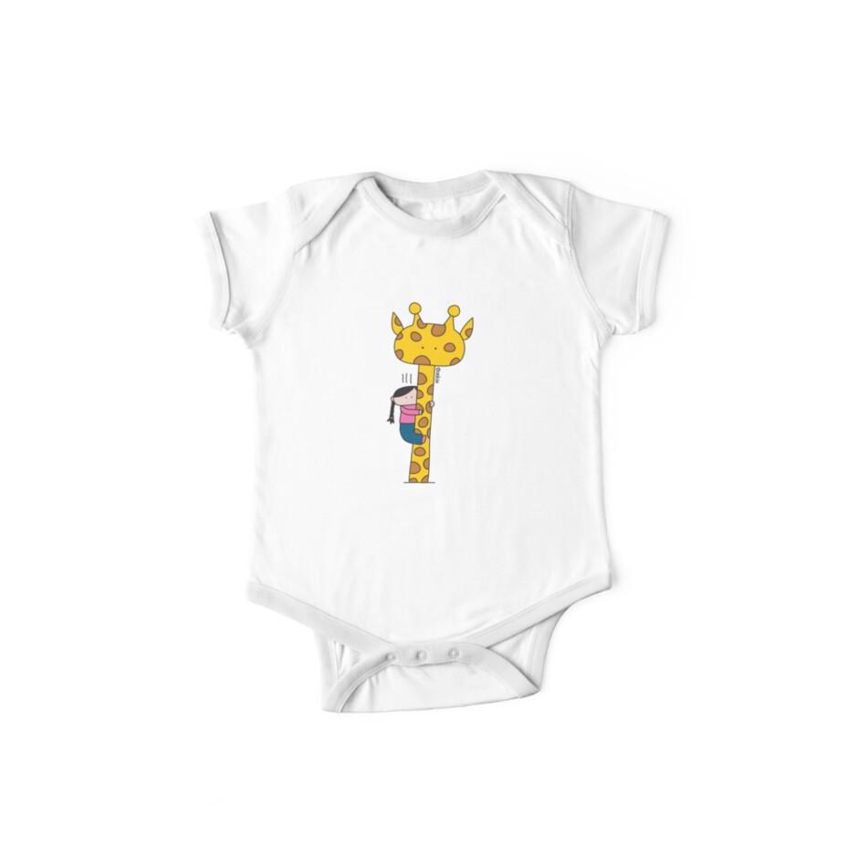 Giraffe - Clothing, Sticker & iCase by oekies