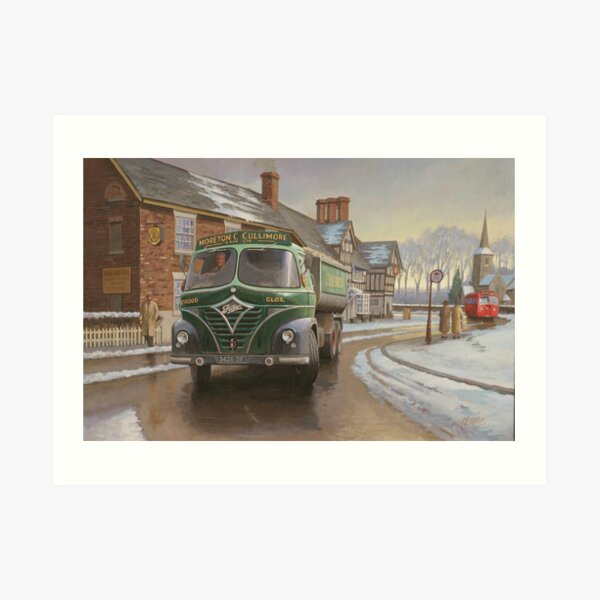 Mickey Mouse Foden, Moreton C. Cullimore Art Print