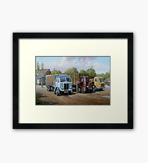 Max's transport cafe. Framed Print