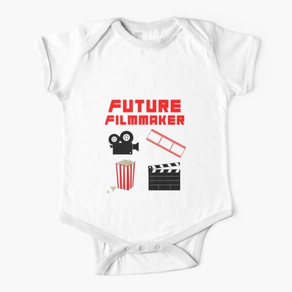 Future Filmmaker Short Sleeve Baby One-Piece