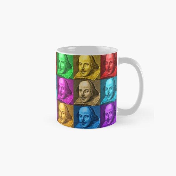William Shakespeare Pop Art Classic Mug