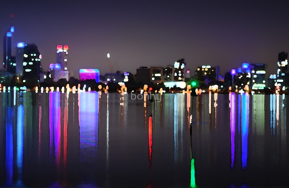 Perth Skyline  by bonhy