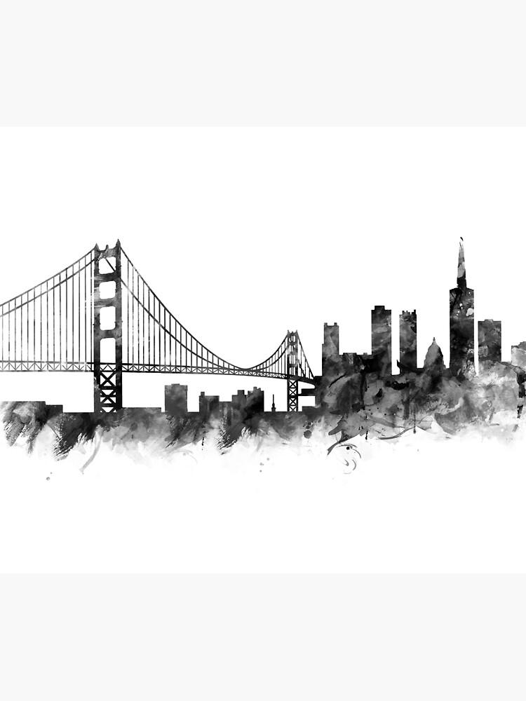 San Francisco Skyline by MonnPrint