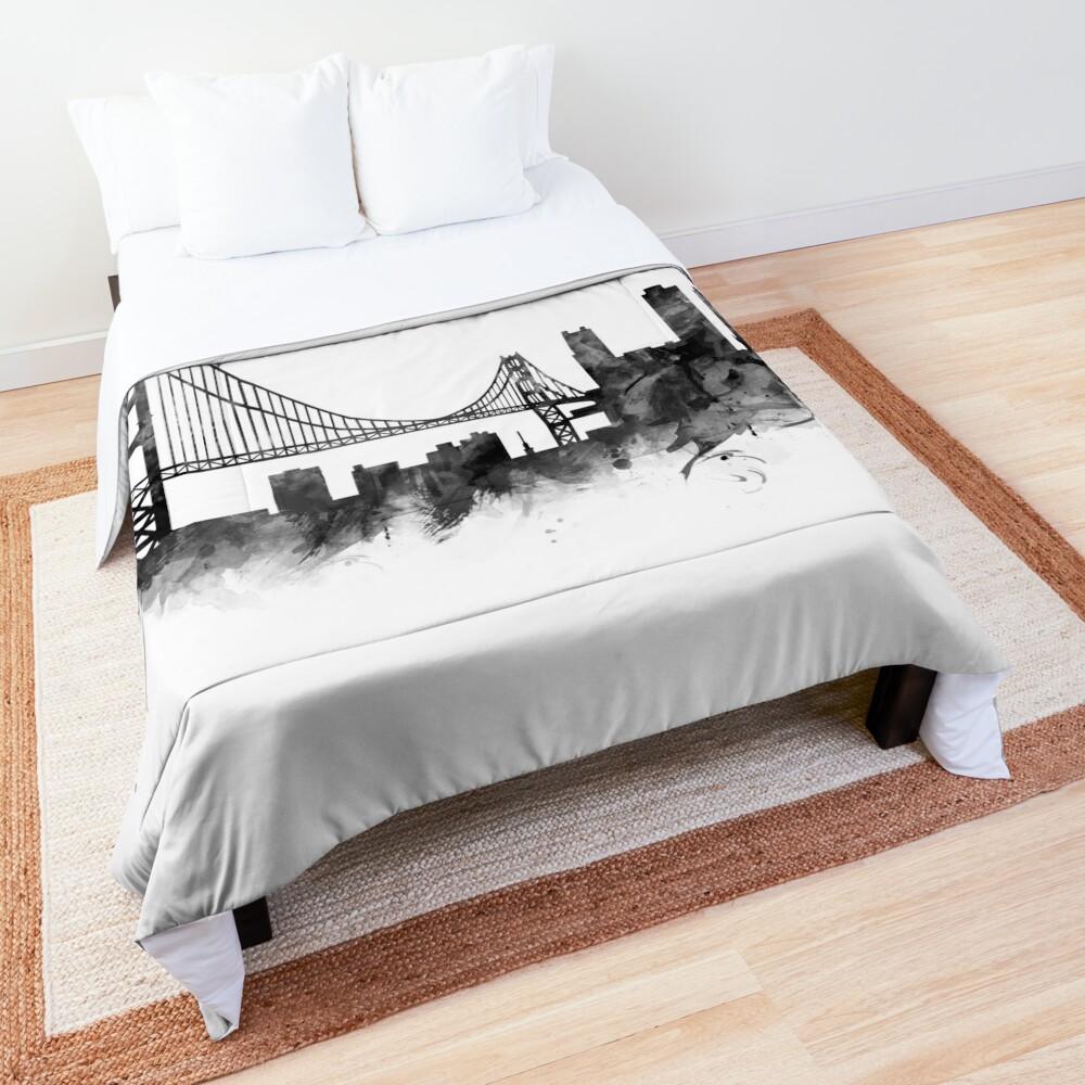 San Francisco Skyline Comforter