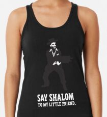 Say Shalom To My Little Friend Women's Tank Top