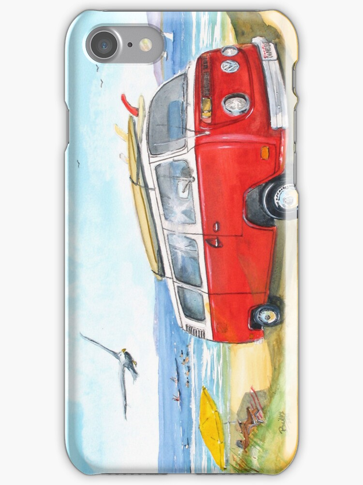 Dwynn'sVW-IPhone Case by Rob Beilby