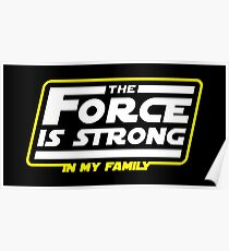 Strong In My Family Poster