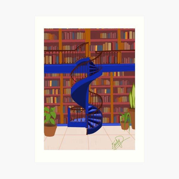 quiet Library Art Print