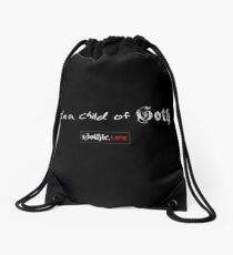 I'm A Child of Goth. Gothic.Life Drawstring Bag