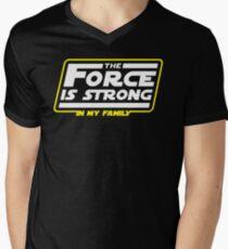 Strong In My Family Men's V-Neck T-Shirt
