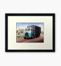 TVW bulk coal lorry Framed Print