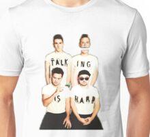 Talking Is Hard Album Cover Unisex T-Shirt