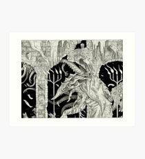 Migration of the Elder Things Art Print