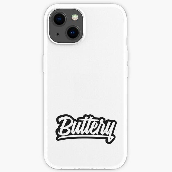 logo autocollant de films de beurre Coque souple iPhone