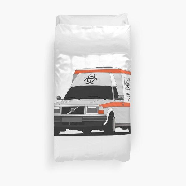 Ambulance Volvo 245 Housse de couette