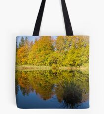 Image in the water  Tote Bag