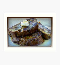 Sweet Potato French Toast Art Print