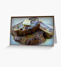 Sweet Potato French Toast Greeting Card