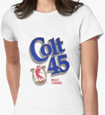 Colt 45 Womens Fitted T-Shirt