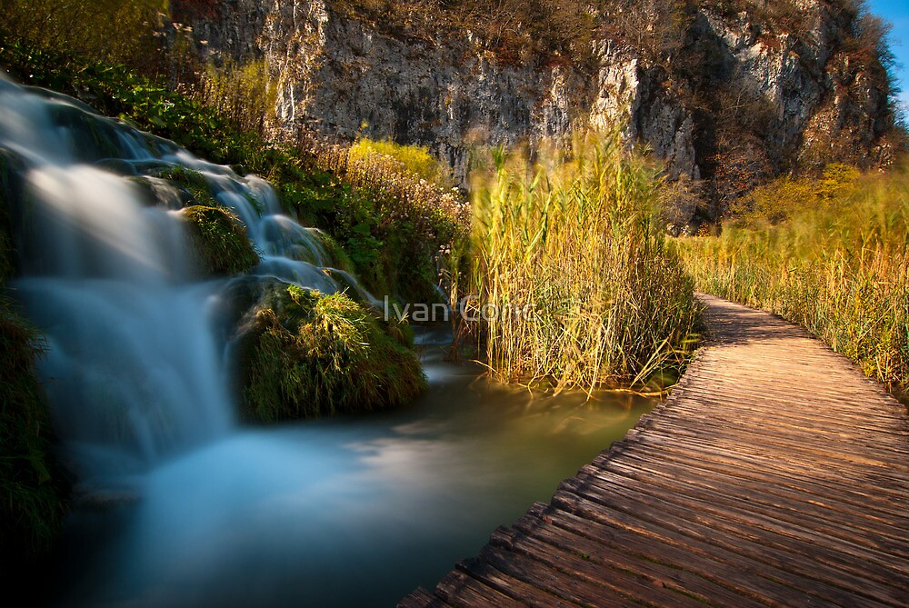 By the waterfalls by Ivan Coric