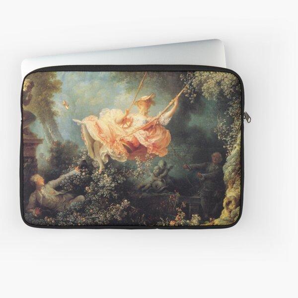 The Swing by Jean-Honoré Fragonard Laptop Sleeve