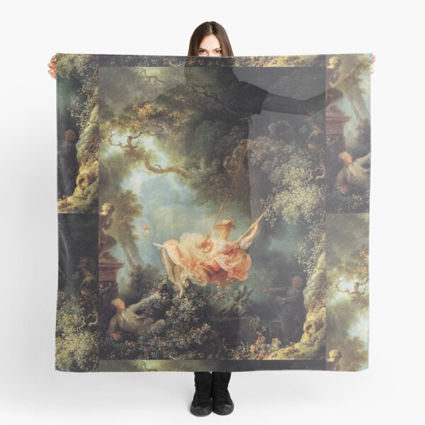 The Swing by Jean-Honoré Fragonard Scarf