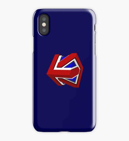 Union Jack Cube II iPhone Case/Skin