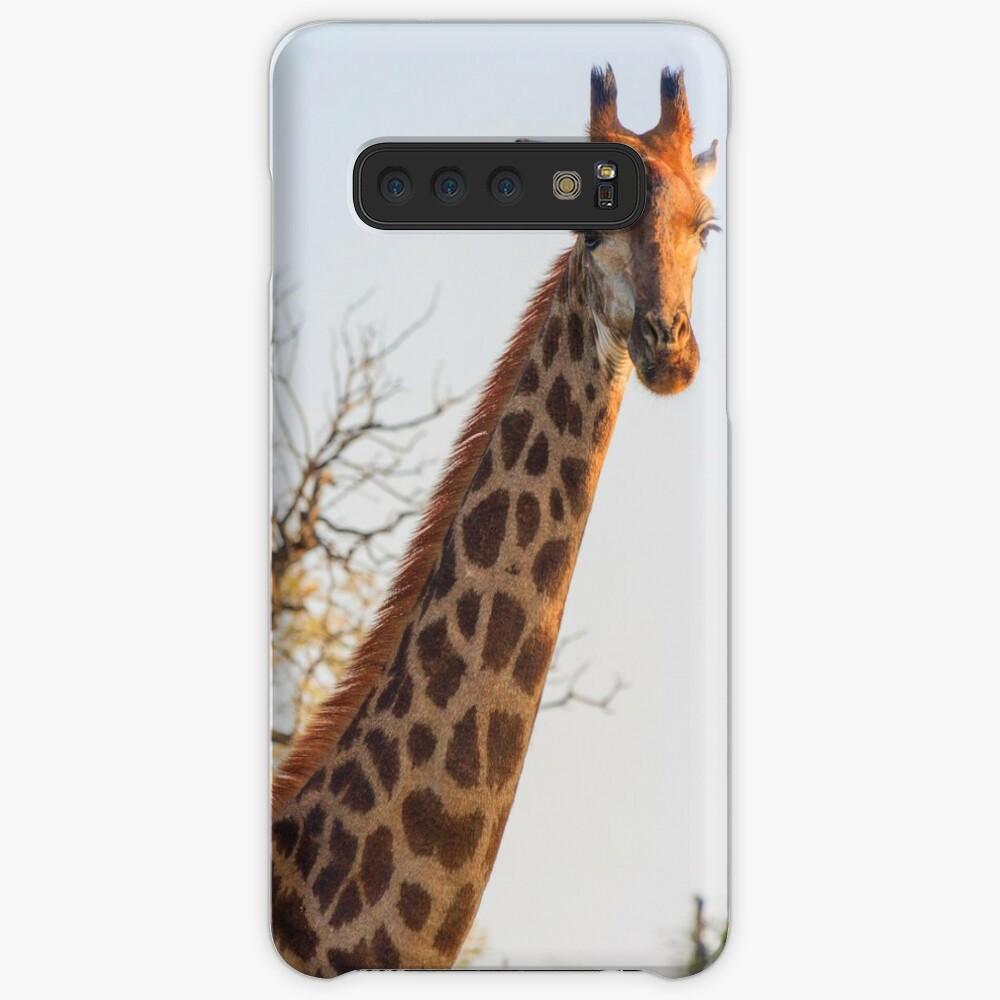 Early Morning Giraffe Portrait Case & Skin for Samsung Galaxy
