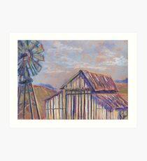 Maurice Car'rie Barn (pastel) Art Print