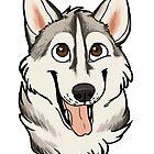 Jasper the Husky - Custom by Dany Gonzalez