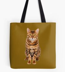 Amazing Bengal Kitten Tote Bag
